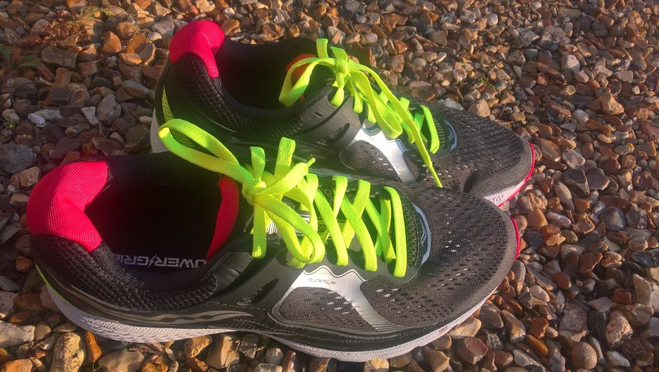 Runnorfolk blogger Shaun Lowthorpe unveils his new Saucony shoes