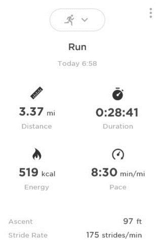 Run details