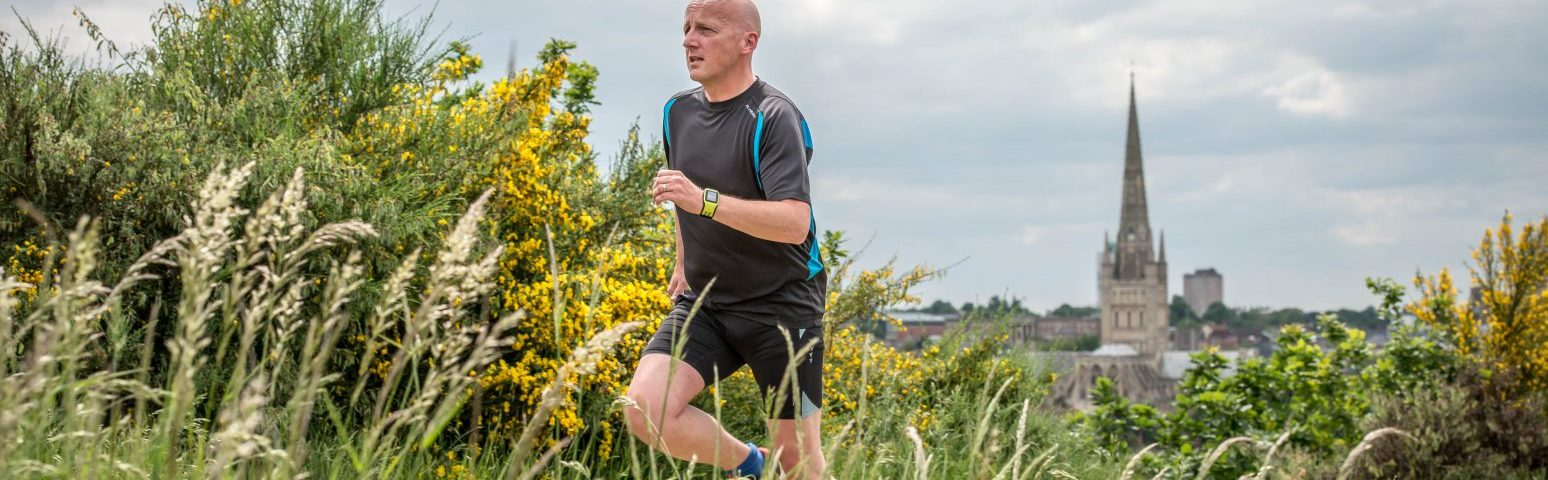 Shaun Lowthorpe asks 'are you starting to run again'?