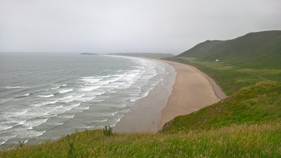Rhosillin Beach, Gower Peninsula, Wales by Shaun Lowthorpe Runnorfolk