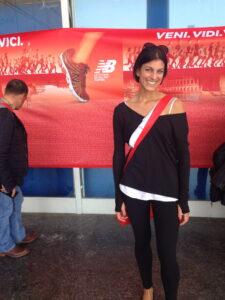 Me at the maratona di roma expo