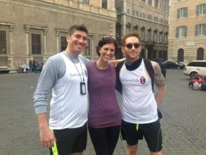 Me with The Roman Guy(s) Brandon & Sean Personal Photo