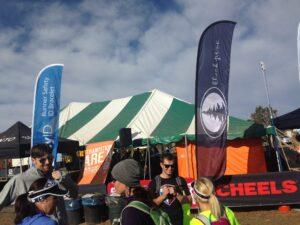 Ragnar Trail Zion Transition Tent