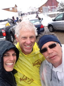 My running buddies, Tom, Ken & I after cleaning up our campsite.