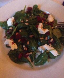 Prime, Buckhead, Spinach, Salad