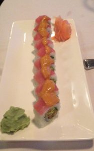 Kamikaze Roll, Sushi, Ocean Room, San Diego, California