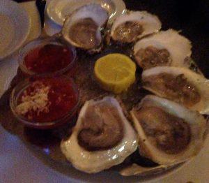 Oysters, Prime, Buckhead, Atlanta, dinner