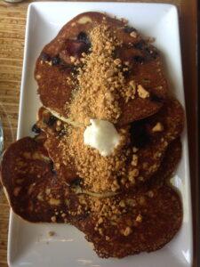 Eclipse Chocolate, San Diego, California, Blueberry Maple Bacon Pancakes, Brunch