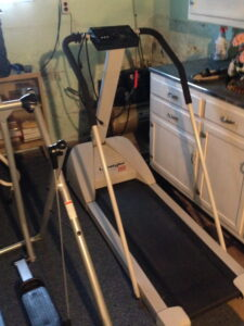The Old School Treadmill