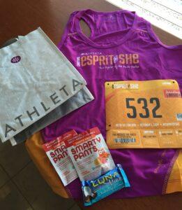 Esprit de She, Mesa, Run, 5k,10k, Race Swag