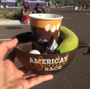 Hot Chocolate 15k, Salt River Fields, Ram Racing, Phoenix, Scottsdale, Arizona, chocolate treats