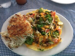 Moke's Bread & Breakfast, Garden Frittata, breakfast