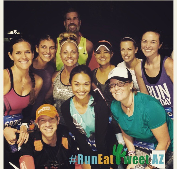 Phoenix Marathon, Half Marathon, Start Line, RunEatTweetAZ