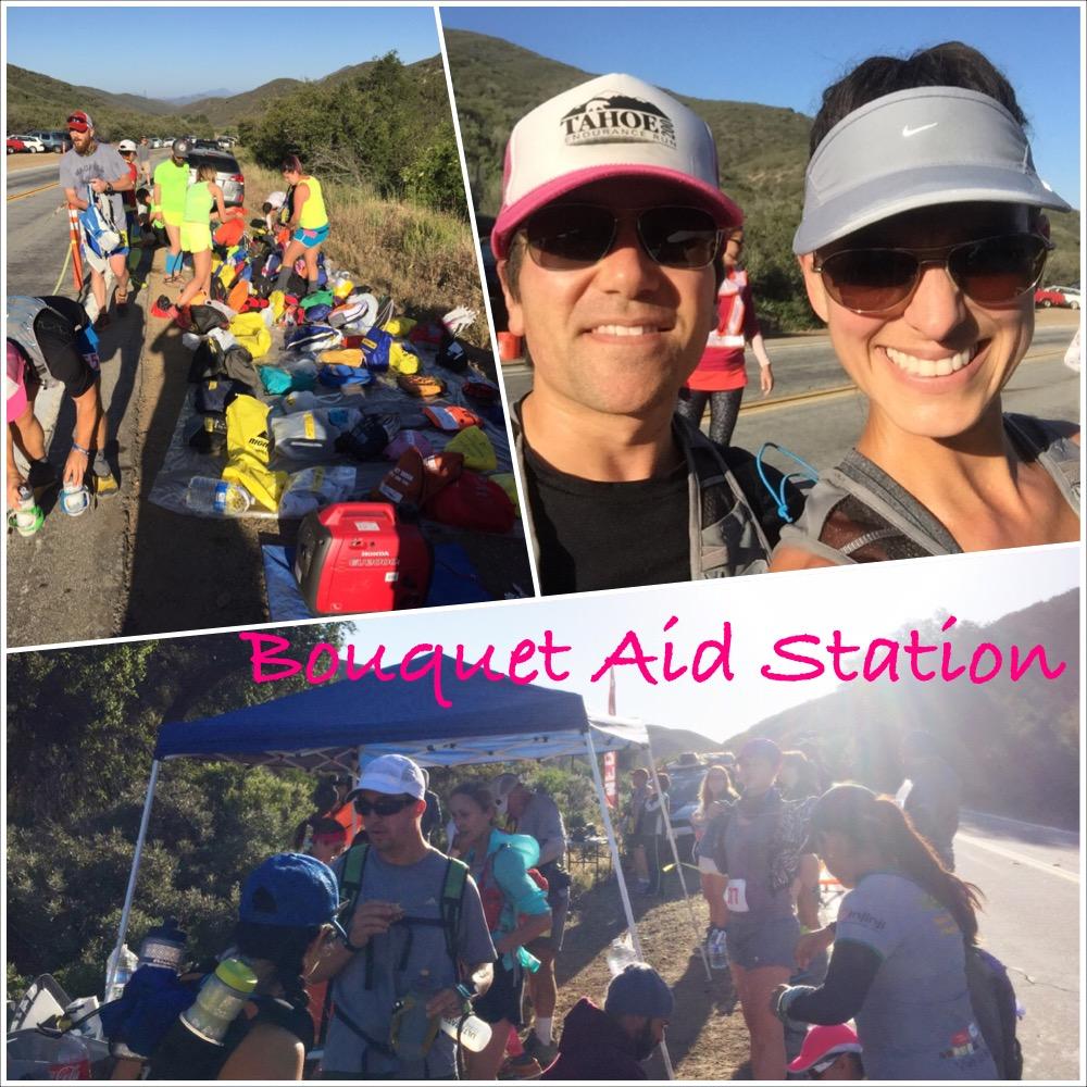 Leona Divide, 50k, 50 mile, aid station, Bouquet, california, ultramarathon