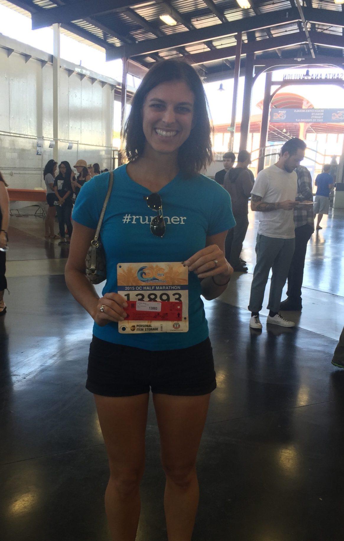 OC Marathon, Expo, Bib Pickup, #runner