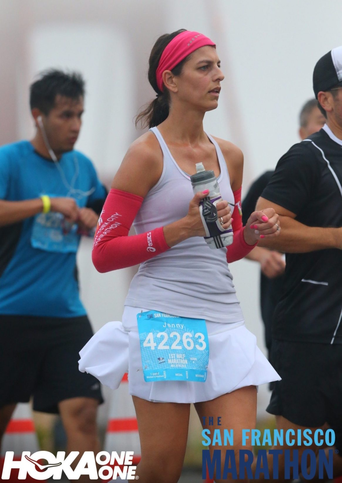 SF Marathon, Golden Gate Bridge, 1st Half Marathon, Lululemon, Buff USA