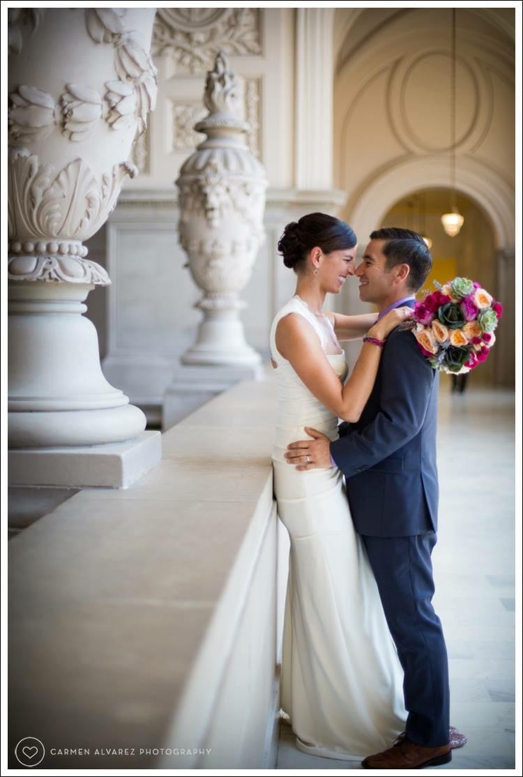 San Francisco City Hall, People's Palace, Carmen Alvarez Photography, San Francisco, SF Wedding
