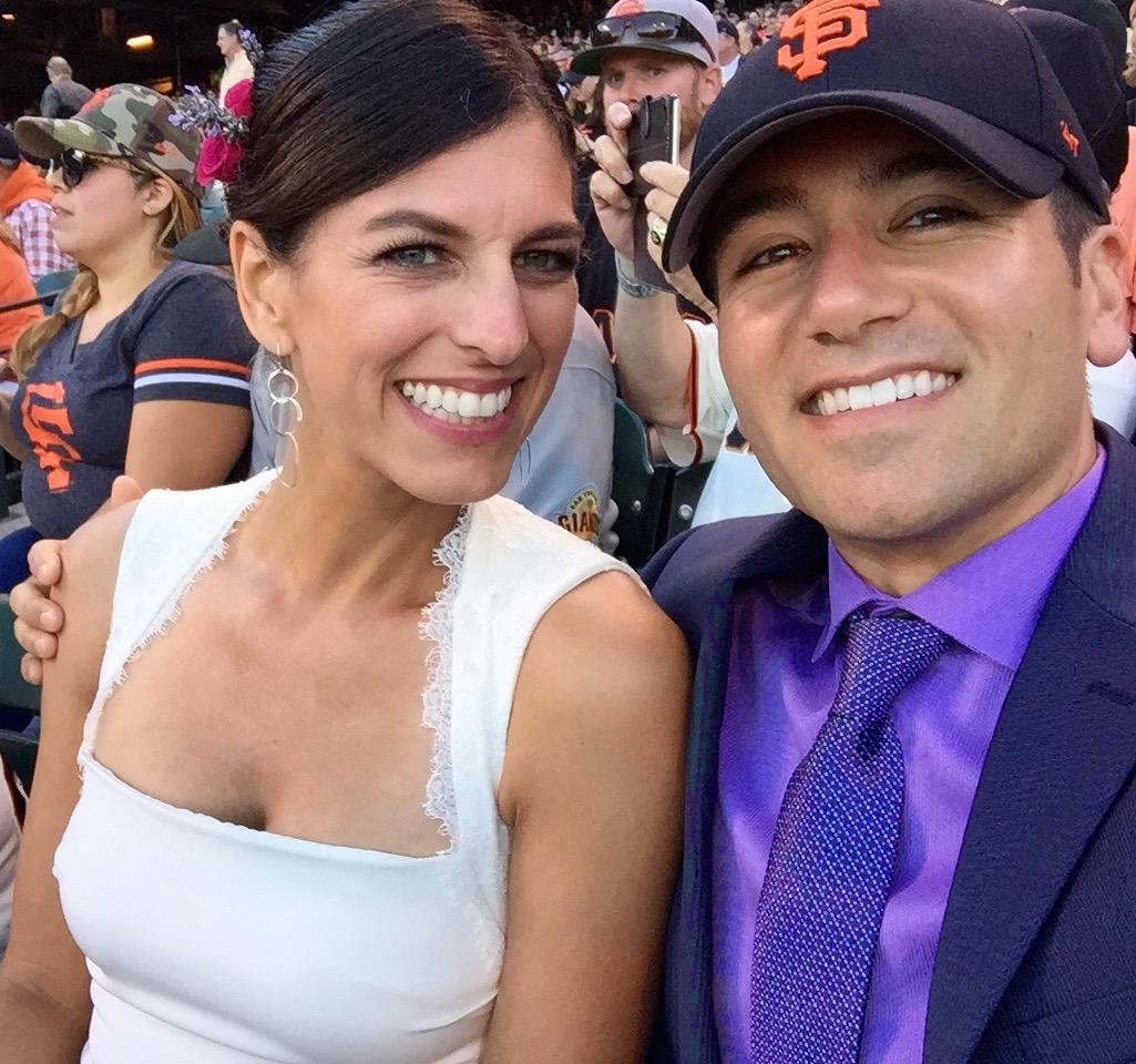 SF Giants, San Francisco, Giants, AT&T Park, Wedding Night, Baseball