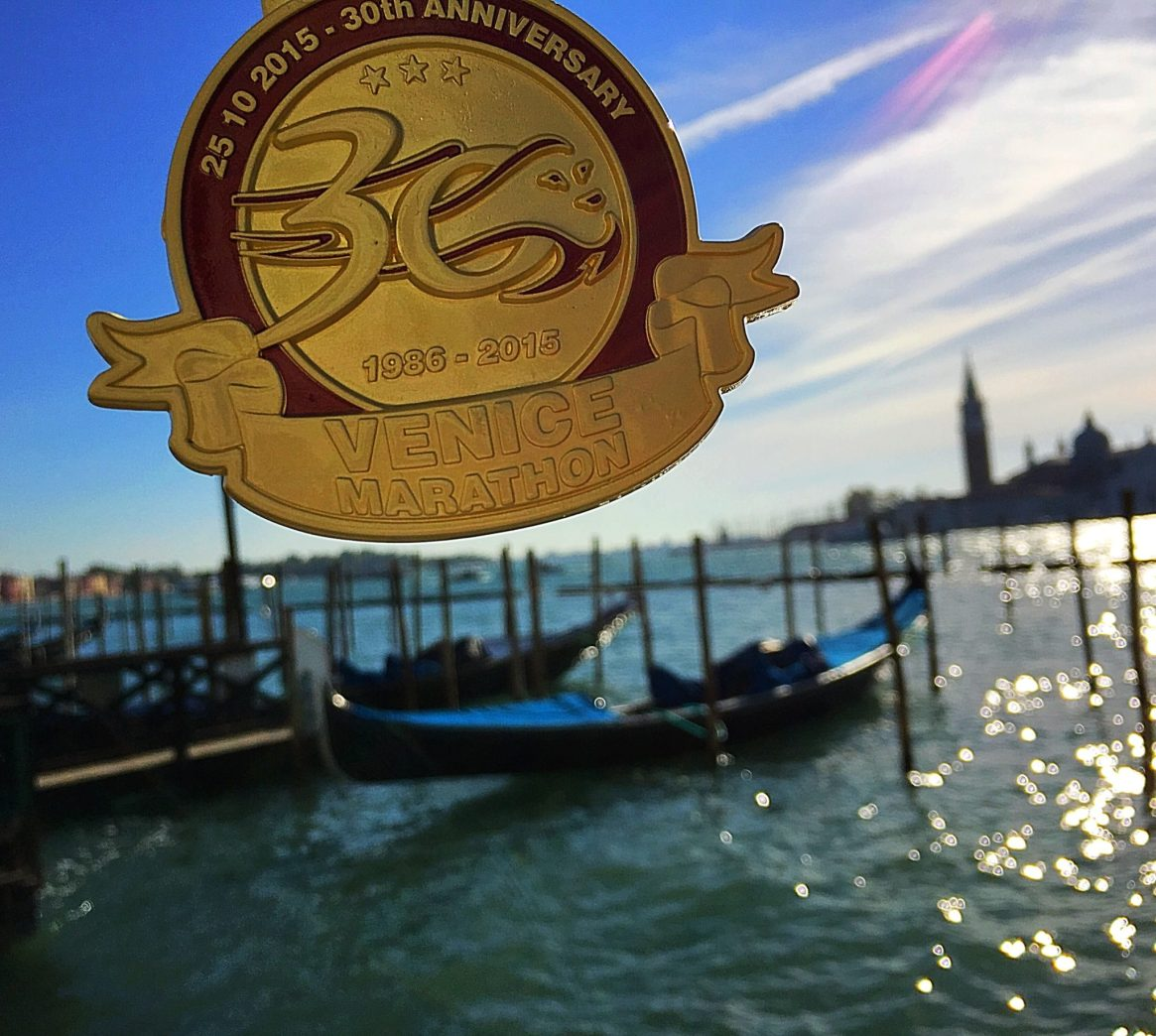 Venice Marathon, 30th Anniversary, Marathon, Venice, Italy, Race Medal