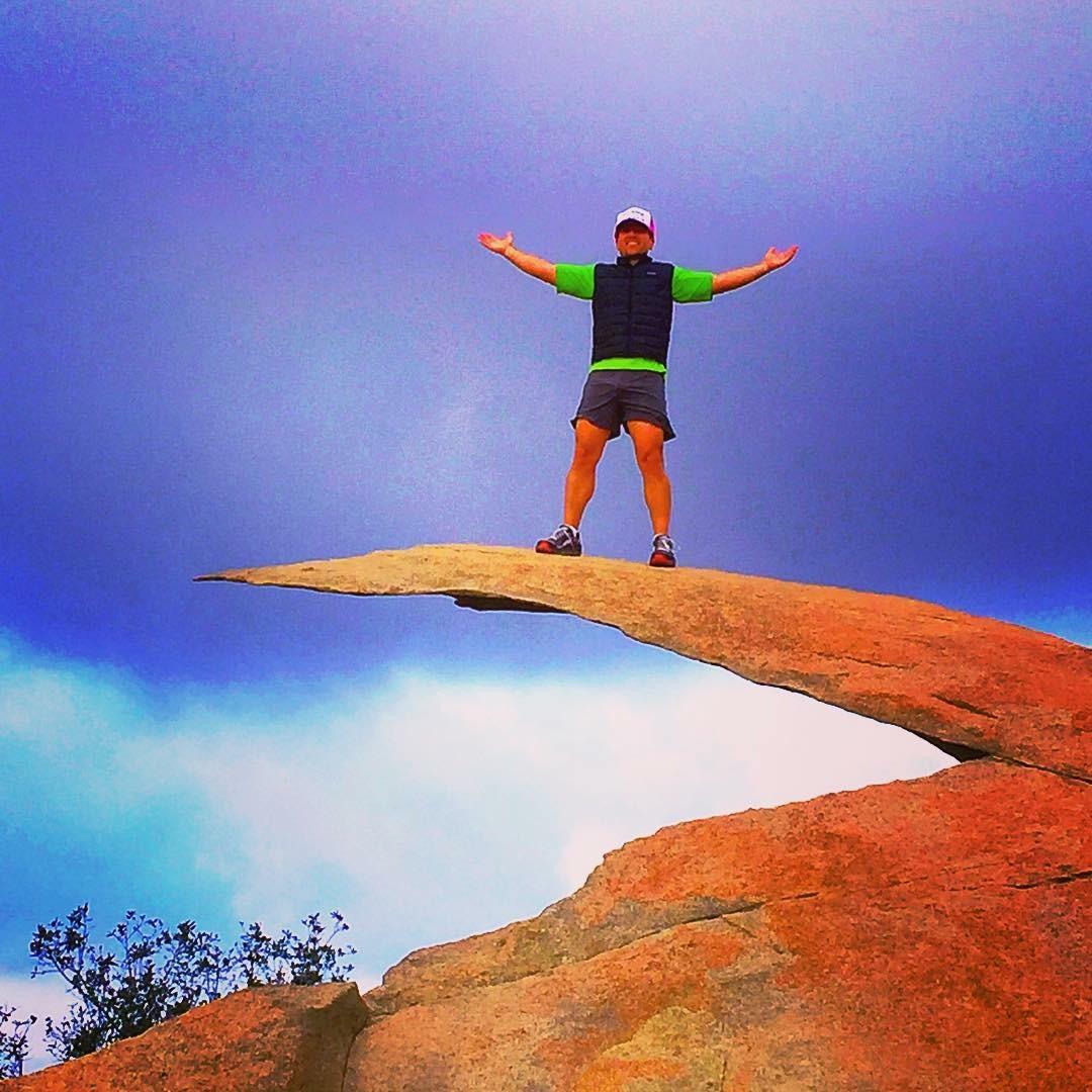 Potato Chip Rock, Mount Woodson Trail, San Diego, Altra Running
