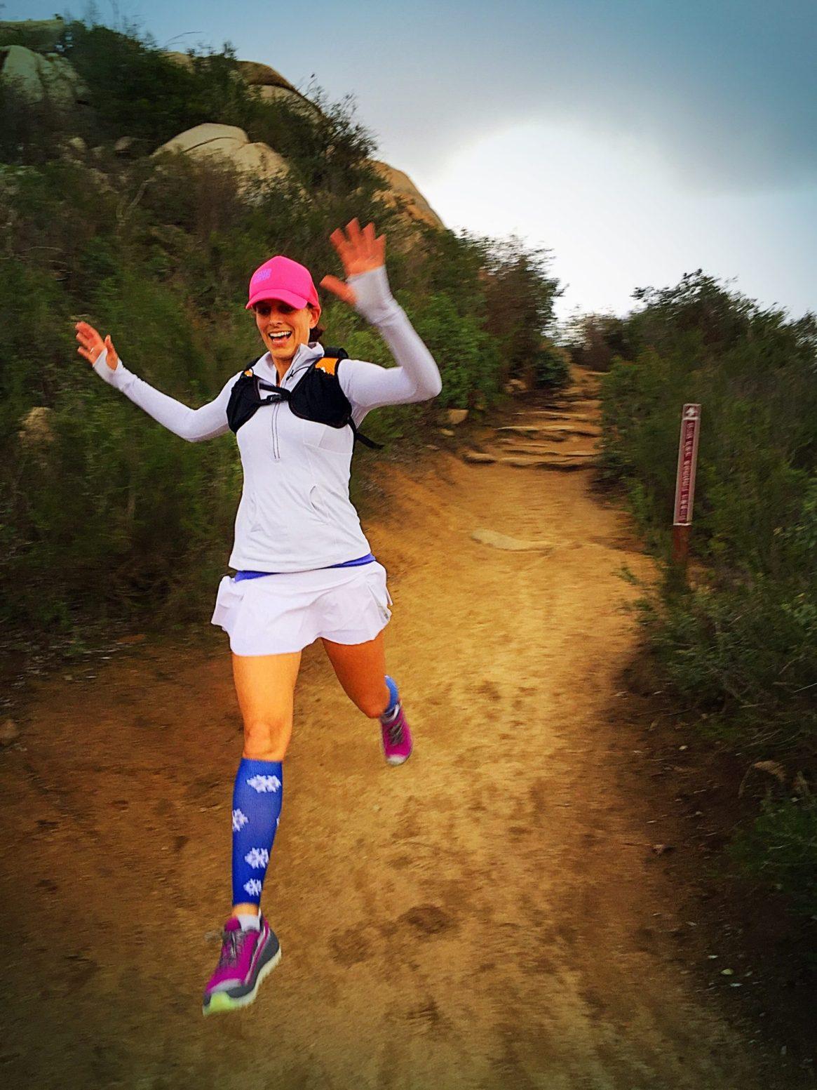 Potato Chip Rock, Mount Woodson Trail, San Diego, Altra Running, Procompression, orange mud, running4thosewhocant, lululemon