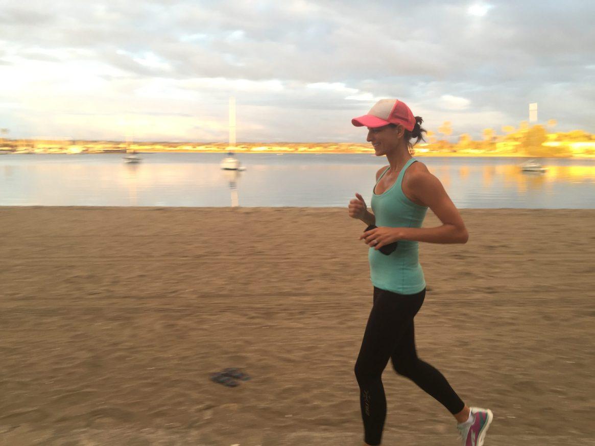 Mission Bay, San Diego, Runner, Sunset, running4thosewhocant, 2xu, Altra Running, Beach Run