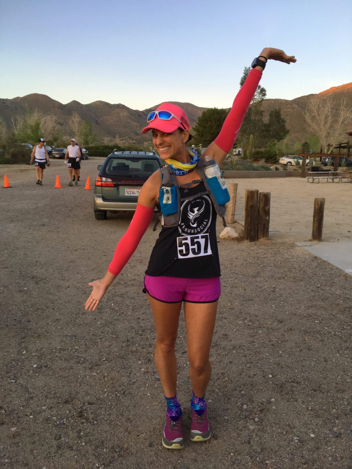 Old West 50k, ultra running, trail run, desert run, we run social, ultimate direction, xx2i, running4thosewhocant