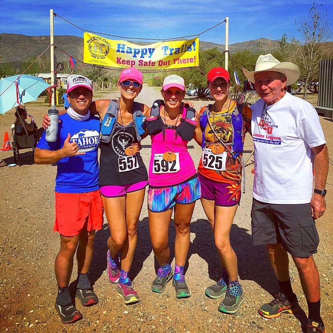 Old West 50k, trail running, ultra, desert, finish line