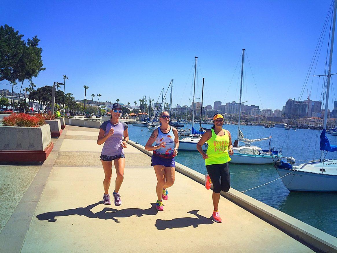 San Diego, Harbor, Running, Runners make the best friends, altra running, lululemon