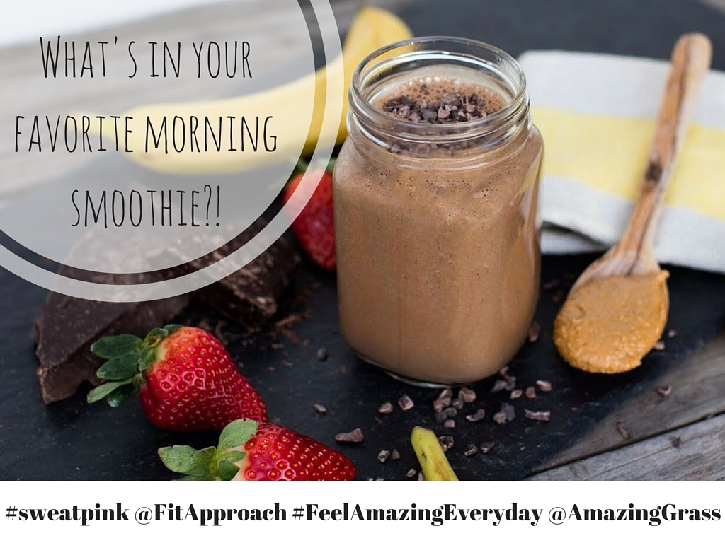 Amazing Grass, Protein Superfood, Chocolate Peanut Butter, Chia, FitApproach, SweatPink