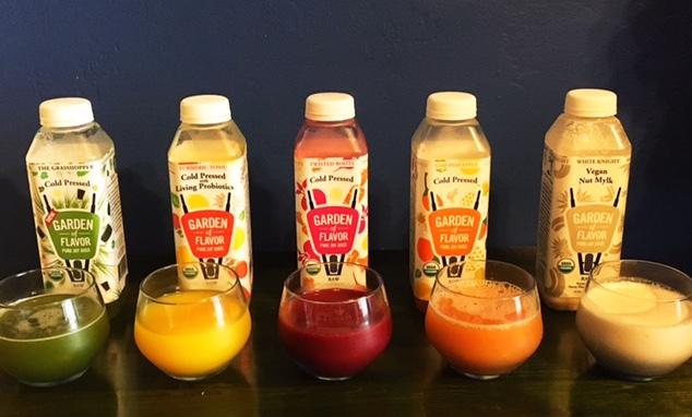 Garden of Flavor, Cold Pressed Juice