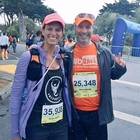 BibRave Pro, Bibrave, The San Francisco Marathon, 2nd Half Marathon, We Run Social, Running4thosewhocan't, Orane Mud