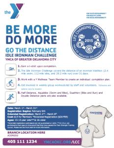 YMCA Idle Ironman 2015