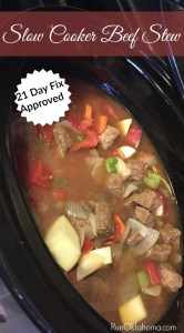 21 Day Fix Approved Beef Stew