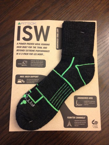 The new Fitsok ISW wool running sock. - Photo by Matt Rasmussen