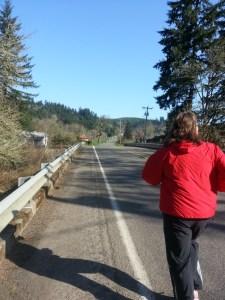 Mackenzie River Half Marathon Photo Credit: Amber Cofrsen