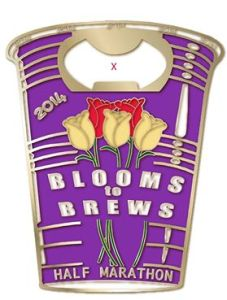 2014 Blooms to Brews Medal