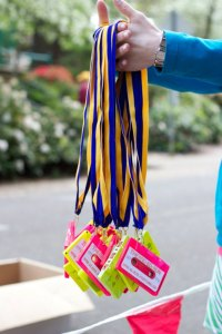 Rad 80's Run Medals Photo Credit: Rad 80's Run Facebook