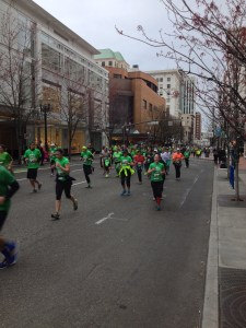 Runners bringing the rowdy to the streets of Portland. - Photo by Matt Rasmussen