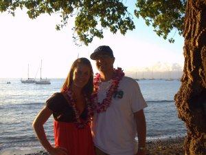 Matt at his peak (with his beautiful wife).