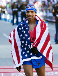 Guest Speaker Meb Keflezighi 3x U.S. Olympian & Generation UCAN athlete Photo Credit: All-American Marathon Website