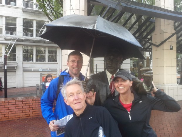 Street Smart with Umbrella Man