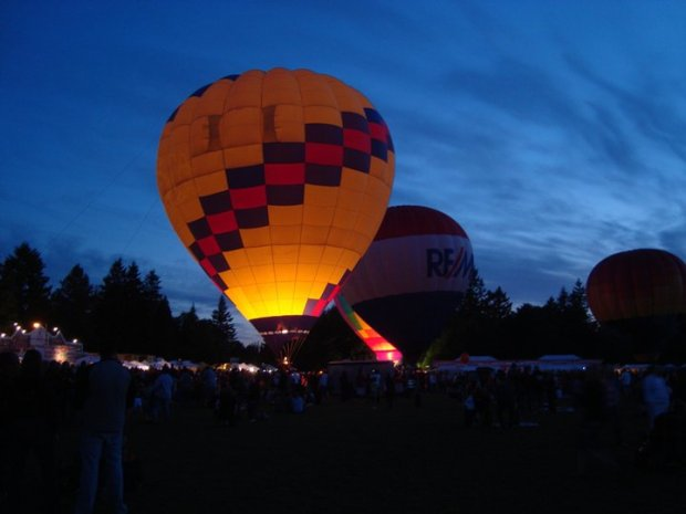 Night Glow after the 2011 Twilight Run. (Photo by Geli Heidelberger)