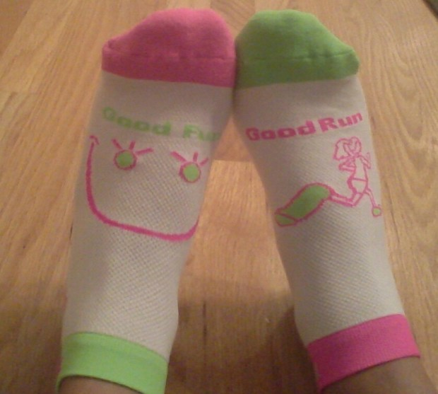 Run With It socks by My Soxy Feet