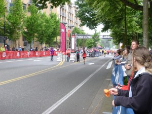 Vancouver USA Marathon Finish Line