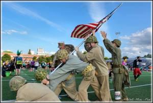 First Place winners - Iwa Jima Marines Taken By Waz-Mix Pix