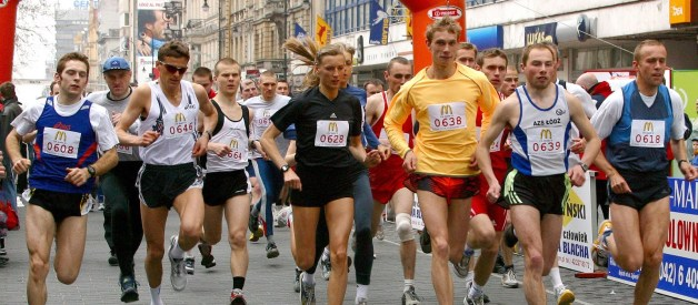 Half marathon training: inspirational marathon runners