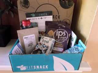 September 2015 Fit Snack Box full of tasty snacks
