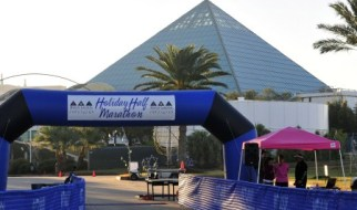 The Moody Gardens Holiday Half Marathon wasn't quite what I expected. Fun, but cold and not very scenic.