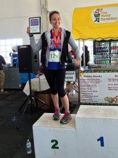 Moody Gardens Holiday Half Marathon: My podium moment was kind of funny